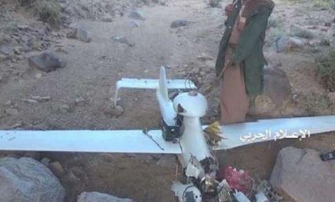 سرنگونی پهپاد دیگر ائتلاف سعودی در شمال یمن
