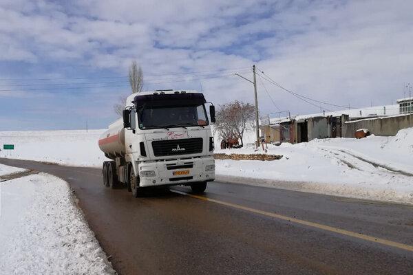 تردد خودروهای سنگین در محور بجنورد - اسفراین آزاد شد