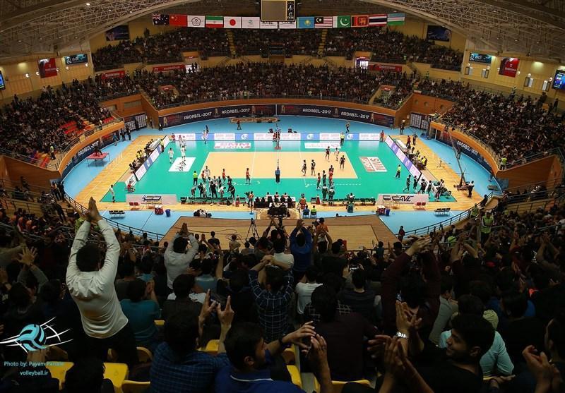 بلندقامتان ایران بر قله آسیا ایستادند، برپایی جشن قهرمانی با حضور 8 هزار طرفدار اردبیلی