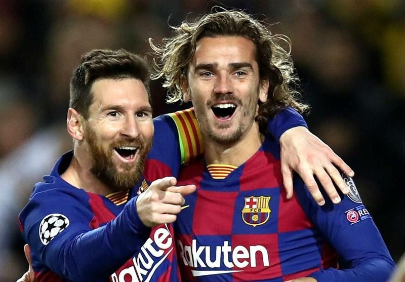 گریزمان: سعی می کنم در زمین حرکات مسی را درک کنم، می خواهم در بارسلونا تاریخ سازی کنم