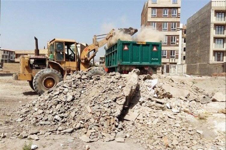 روزانه چند هزار تن پسماند ساختمانی در تهران فراوری می گردد؟ ، تبدیل نخاله های ساختمانی به کفپوش خیابان ها