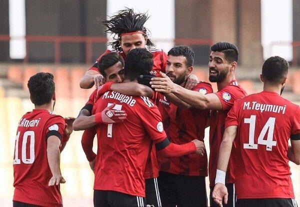 پیروزی پرگل تراکتور مقابل مس کرمان، شاگردان الهامی در نیمه نهایی