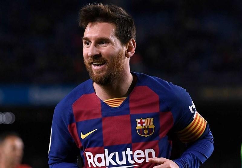 رکورد جدید مسی در شب صعود بارسلونا در جام حذفی اسپانیا