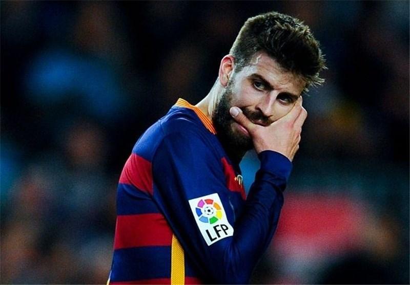 طعنه پیکه به رئالی ها به خاطر خوش شانسی شان در لیگ قهرمانان اروپا