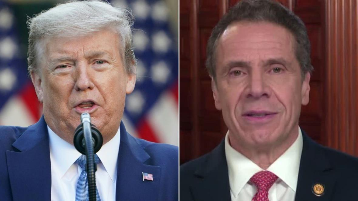 فرماندار نیویورک: ترامپ به جای نشستن درخانه به سرکار بیاید