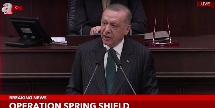 اردوغان اروپا را تهدید کرد؛ برای حل بحران پناهجویان، از ترکیه در ادلب حمایت کنید