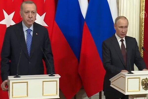 پوتین و اردوغان درباره ادلب سوریه به توافقاتی دست یافتند