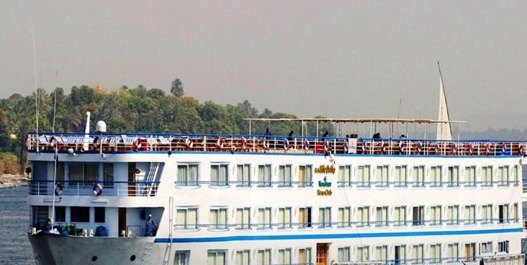تست کرونای 33 سرنشین کشتی در مصر مثبت درآمد