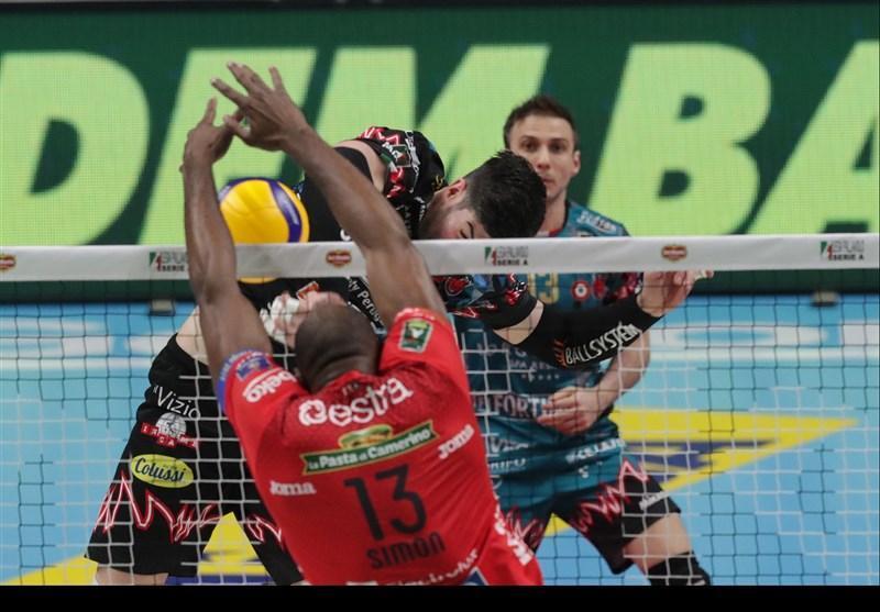 لغو موقت مسابقات والیبال سری A ایتالیا، برگزاری پلی آف در انتظار تصمیم دولت