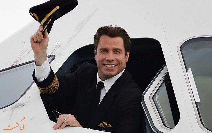 افراد مشهوری که مدرک خلبانی و مجوز پرواز با هواپیما دارند