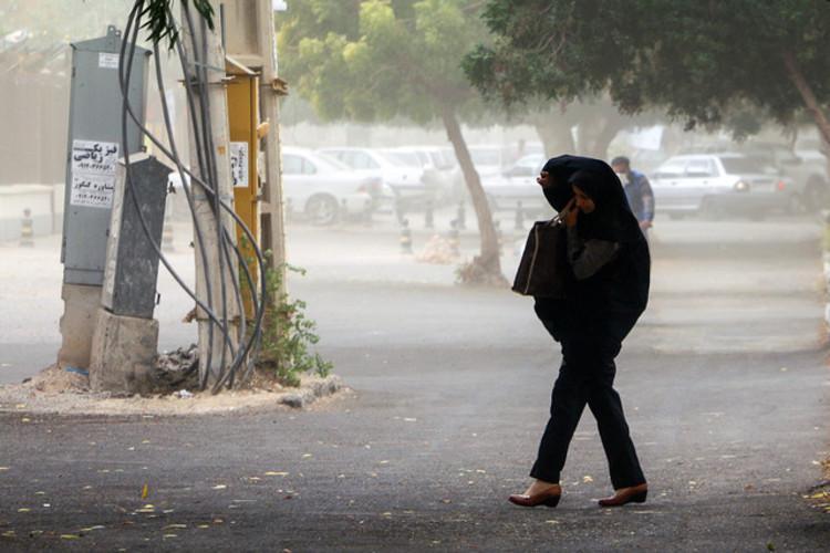 هشدار هواشناسی درباره رگبار و وزش باد شدید