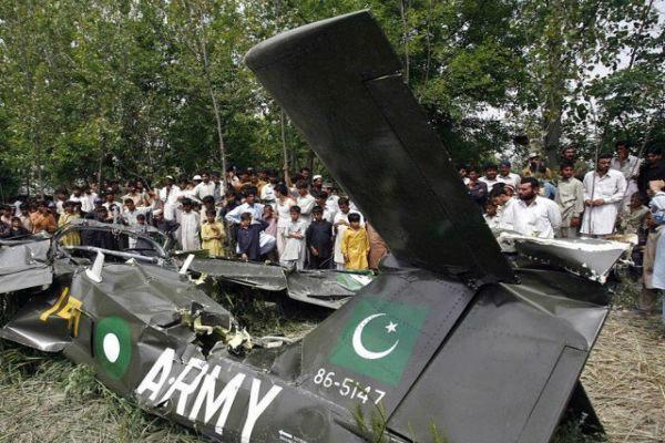 سقوط هواپیمای مسافربری پاکستان، تمام 107 سرنشین جان باختند