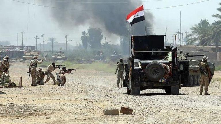 خبرنگاران حمله به مقر داعشی ها در عراق