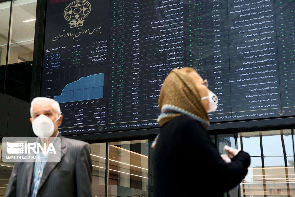 فراز و فرود شاخص بورس در کانال 1.7 میلیونی ، 30 هزار میلیارد تومان سهام معامله شد