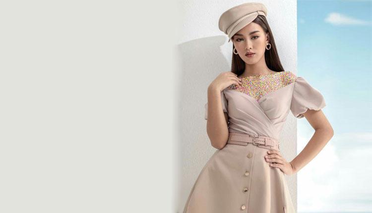 کلکسیونی از 30 مدل لباس مجلسی کالباسی، صورتی چرک و هلویی