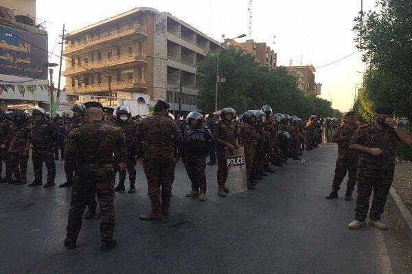 تدابیر امنیتی شدید مقابل سفارت فرانسه در بغداد