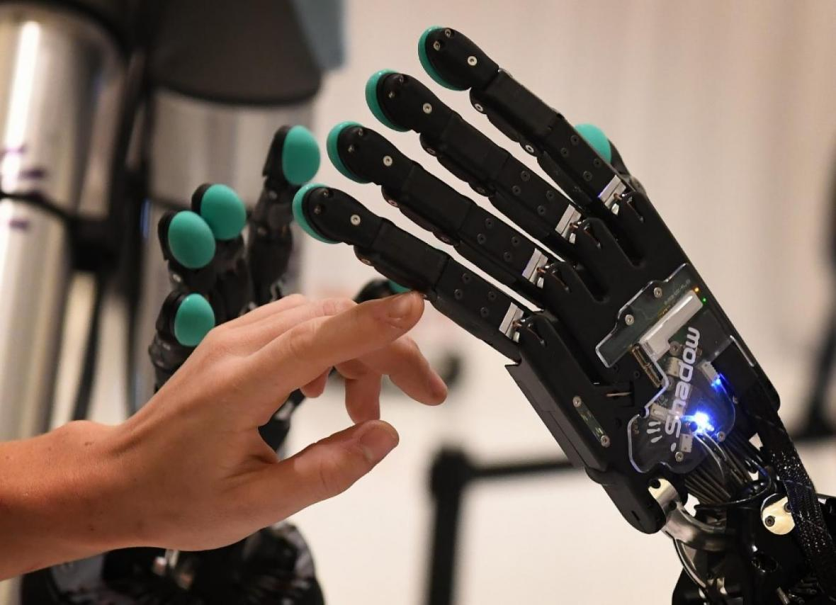 هانس؛ دست مصنوعی ای که 90 درصد واقعی است