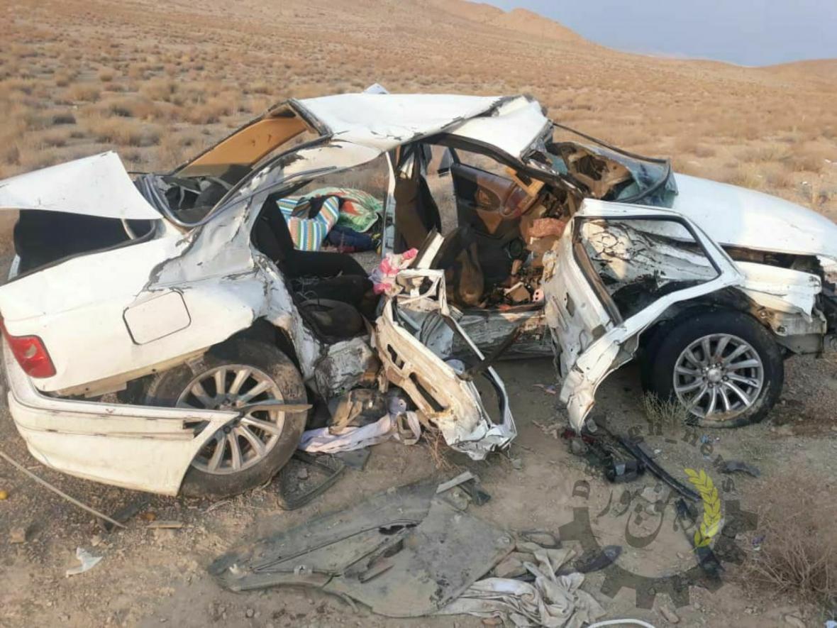 خبرنگاران تصادف در جاده یاسوج به شیراز11 مصدوم برجا گذاشت