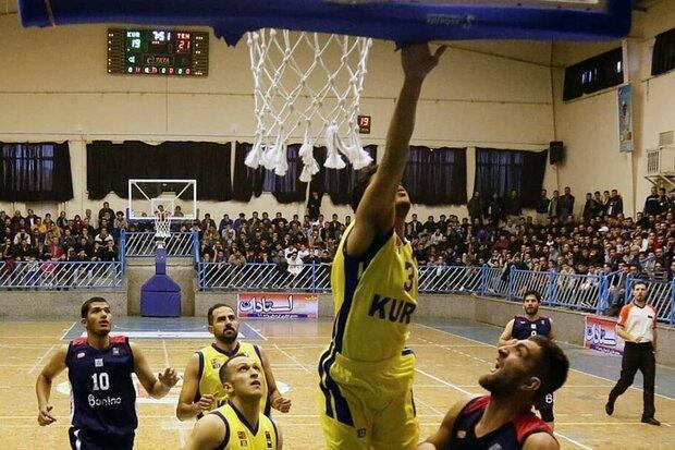 حذف نماینده کردستان از لیگ برتر بسکتبال