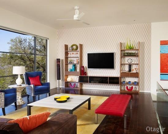 استفاده از اشکال هندسی گوناگون در دکوراسیون خانه