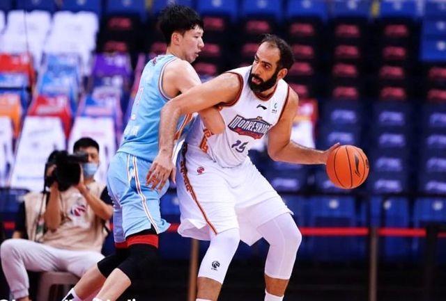 ستاره بسکتبال ایران برترین بازیکن هفته شد