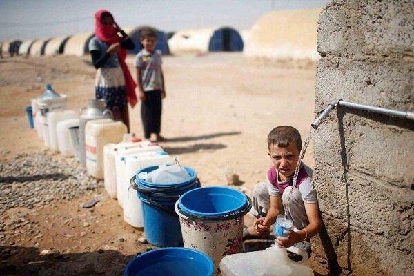 قطع آب استان الحسکه توسط ترکیه یک جنایت جنگی است