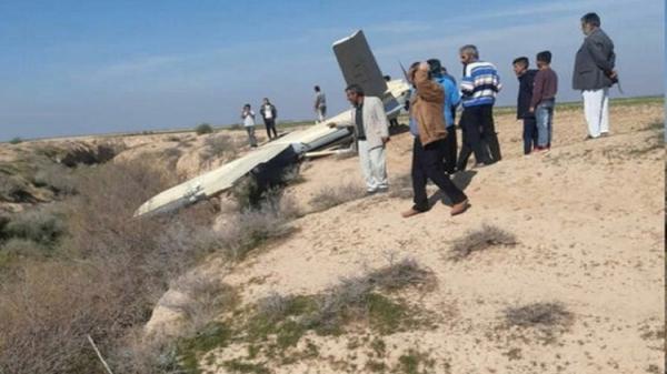 یک پهپاد در سفیدشهر آران و بیدگل فرود اضطراری کرد