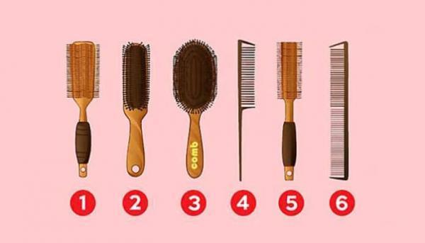 شانه موی شما در مورد شخصیت زنانه شما چه می گوید؟
