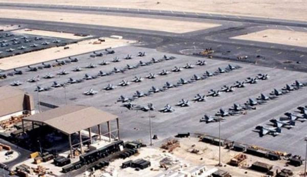 حمله موشکی به پایگاه نظامیان آمریکایی در صلاح الدین عراق