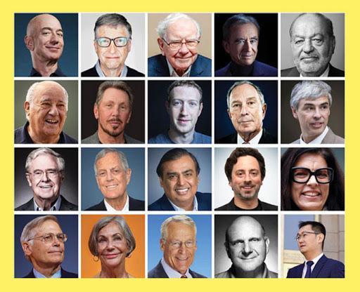 جدیدترین فهرست ثروتمندترین افراد در دنیا