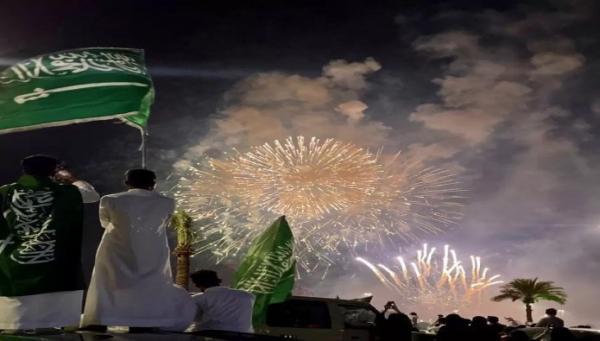 خشم سعودی ها از حواشی غیراخلاقی جشن روز ملی عربستان