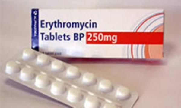 اریترومایسین (ERYTHROMYCIN)